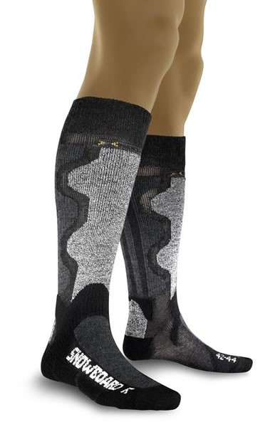 X-SOCKS Snowboard Grey Melange/Anthracite