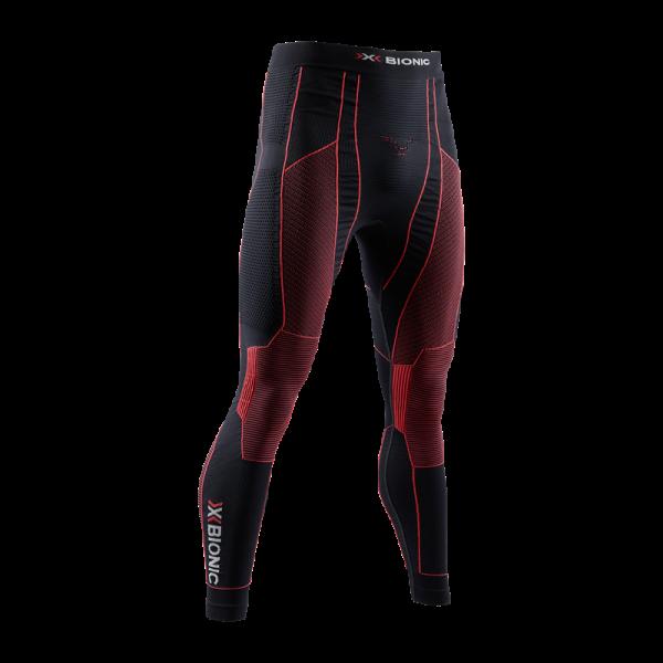 X-BIONIC Moto Energizer 4.0 Pants Opal Black/Signal Red