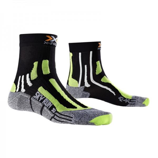 X-SOCKS Sky Run V2.0 Socken Black/Green Lime