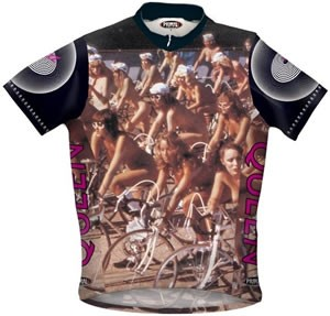Primal Wear Queen - Bicycle Race Nude Ride Jersey
