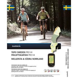 GARMIN TOPO Schweden Mellersta & Södra Norrland V4