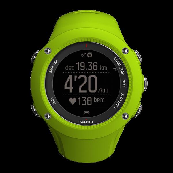 SUUNTO AMBIT3 RUN Lime GPS-Pulsuhr