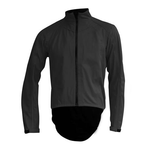 X-BIONIC Symframe Biking Rain Jacket Men Black