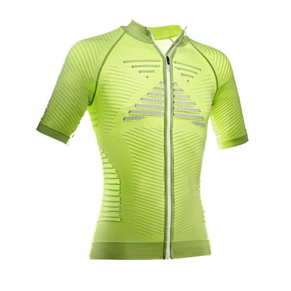 X-BIONIC Effektor Bike Shirt S/S Long Zip Men