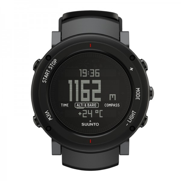 SUUNTO Core Alu Deep Black Outdoor-Uhr