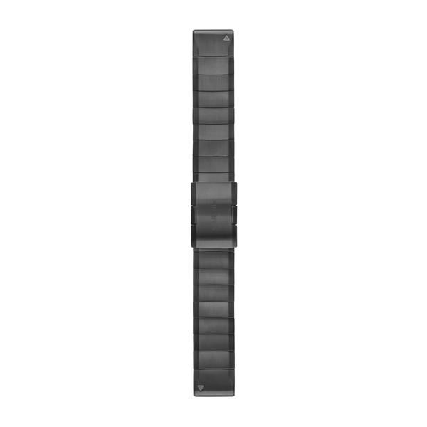 GARMIN QuickFit 22 Armband Carbon Gray Titanium