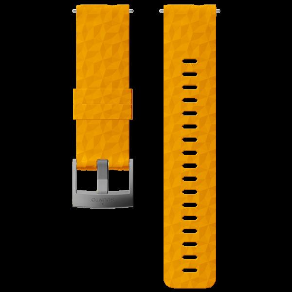 SUUNTO 24 mm Explore 1 Silicone Strap Amber/Gray