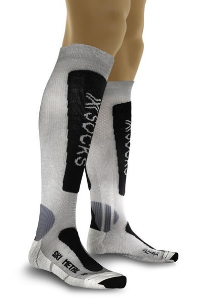 X-SOCKS Ski Metal Silver/Anthracite