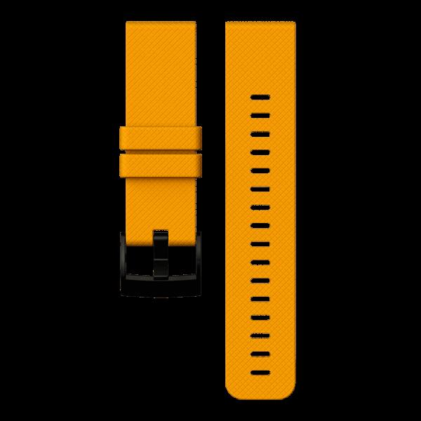 SUUNTO TRAVERSE Amber Silicone Strap Armband