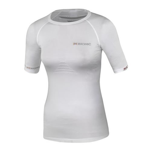 X-BIONIC Speed Shirt S/S Women White/Pearl Grey