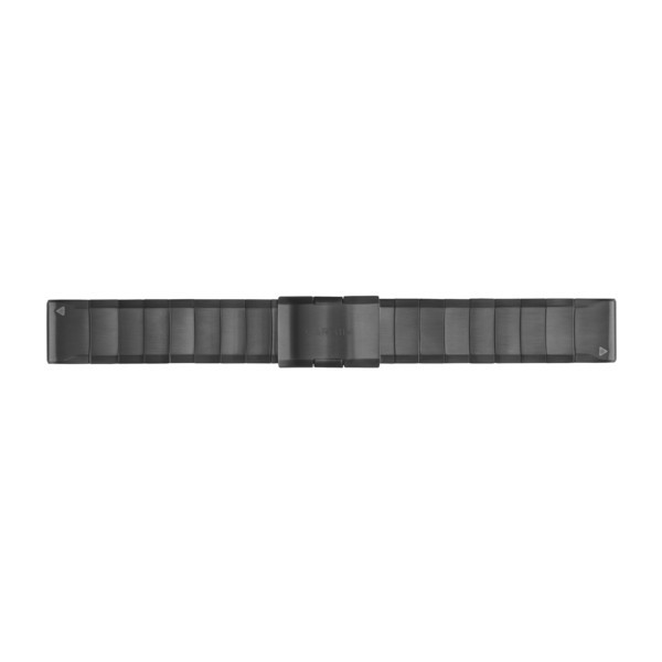 GARMIN QuickFit 22 Armband Metall Slate Gray