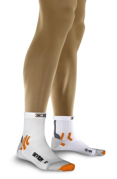 X-SOCKS Sky Run Socken White