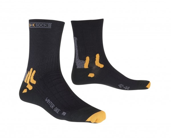 X-SOCKS Winter Biking Black