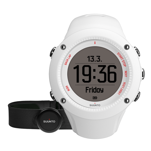 SUUNTO AMBIT3 RUN White HR GPS-Pulsuhr