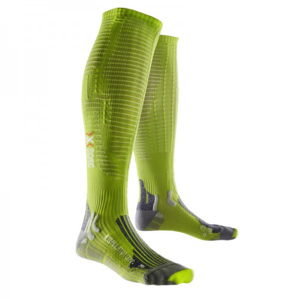 X-SOCKS Effektor xbs.competition Long Socken Lime