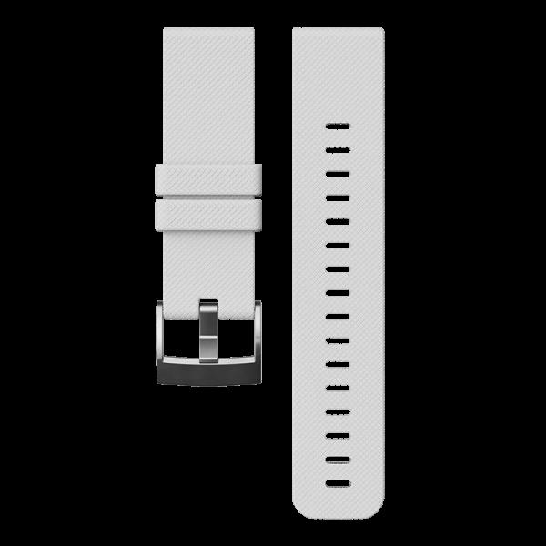 SUUNTO TRAVERSE White Silicone Strap Armband