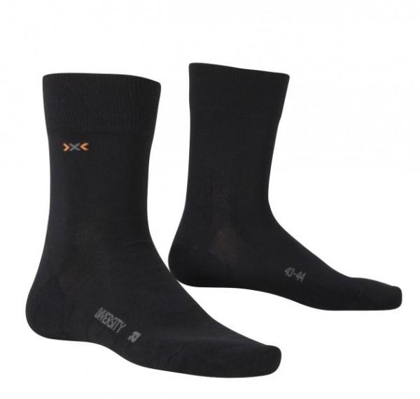 X-SOCKS Diversity Merino-Socken Black