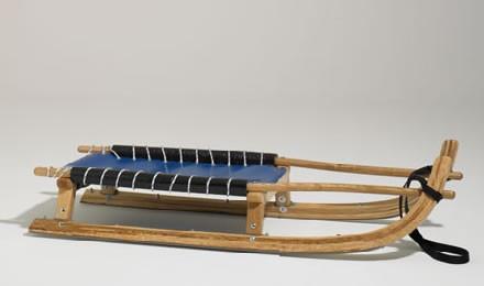 GLOCO Rennrodel blau, 105 cm, 5.4 kg (1-Plätzer)