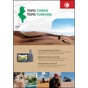 GARMIN TOPO Tunesien Version