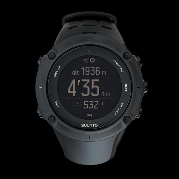 SUUNTO AMBIT3 Peak Black GPS Outdoor-Uhr