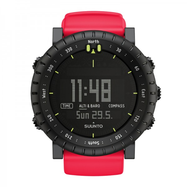 SUUNTO Core Red Crush Outdoor-Uhr