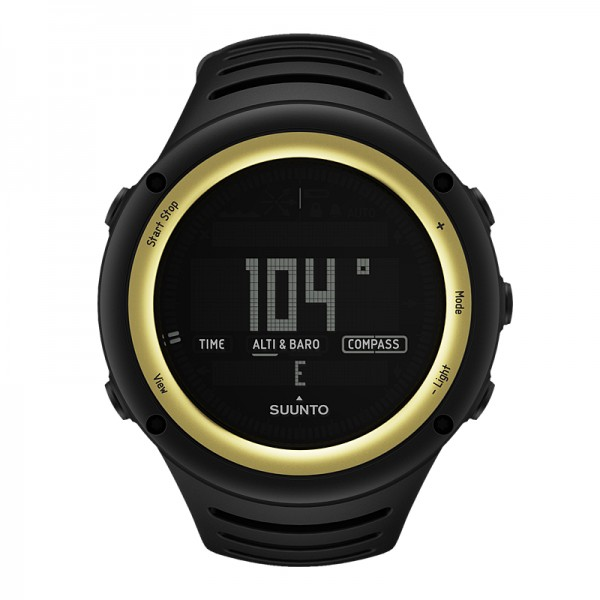 SUUNTO Core Sahara Yellow Outdoor-Uhr
