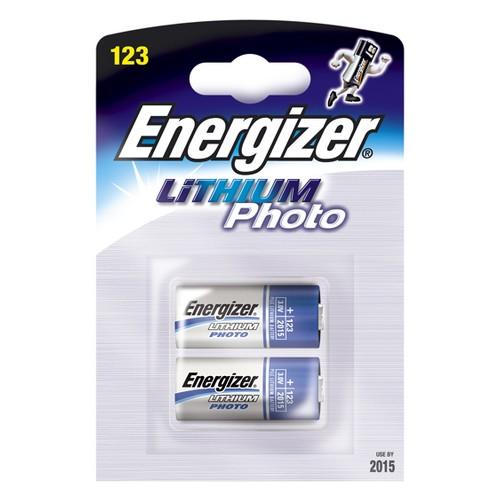 Energizer CR123 Lithium-Batterie (2-er Blister)