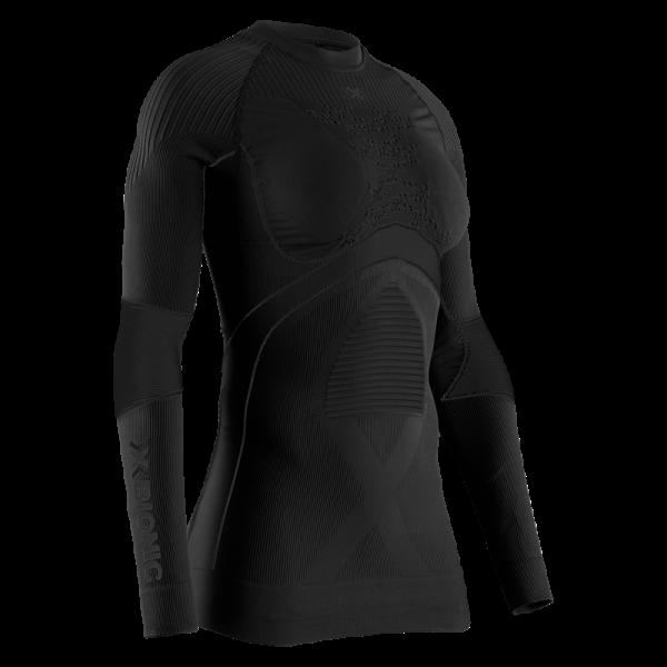 X-BIONIC Energy Accumulator 4.0 Shirt Round Neck L/S Women Black/Black