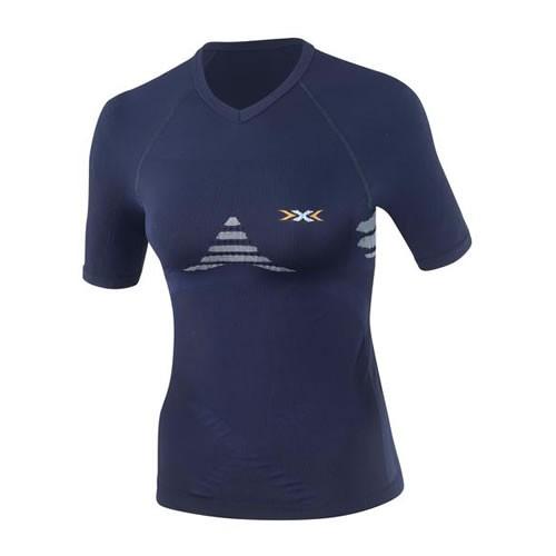 X-BIONIC Energizer Shirt S/S Women Marine/Sky Blue