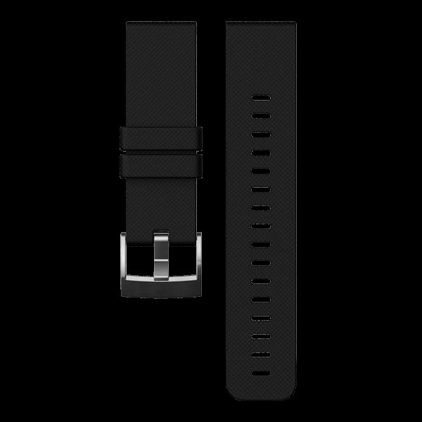 SUUNTO TRAVERSE Black Silicone Strap Armband