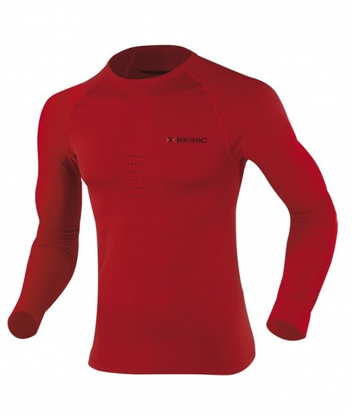 X-BIONIC Speed Shirt L/S Men Red/Black