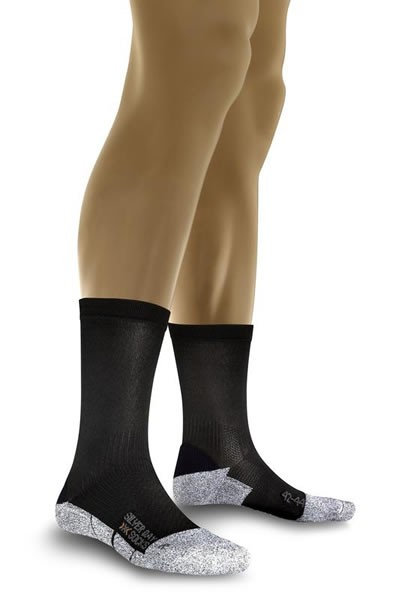 X-SOCKS Silver Day Black