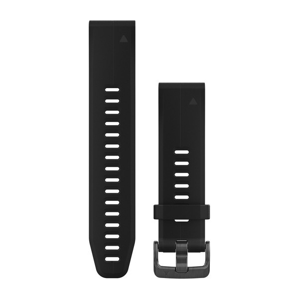 GARMIN QuickFit 20 Armband Silicone Black Plus