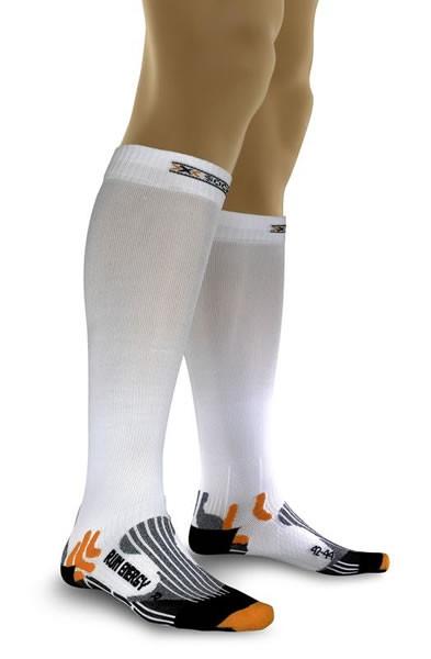 X-SOCKS Run Energizer Compression Socken White