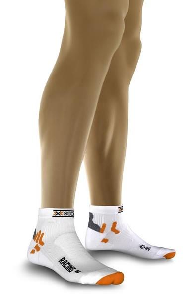 X-SOCKS Bike Racing Socken White