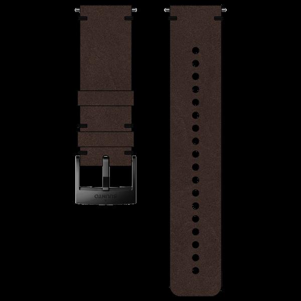 SUUNTO 24 mm Urban 2 Leather Strap Brown/Black