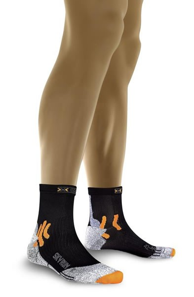 X-SOCKS Sky Run Socken Black