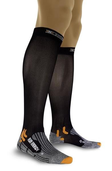 X-SOCKS Run Energizer Compression Socken Black