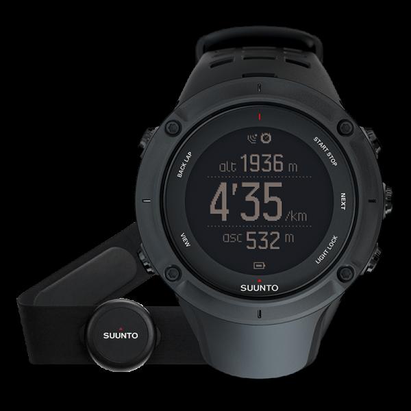 SUUNTO AMBIT3 Peak Black HR GPS Outdoor-Uhr