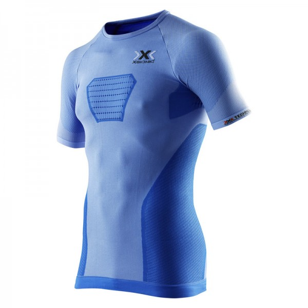 X-BIONIC Speed EVO Running Shirt S/S Men Blue