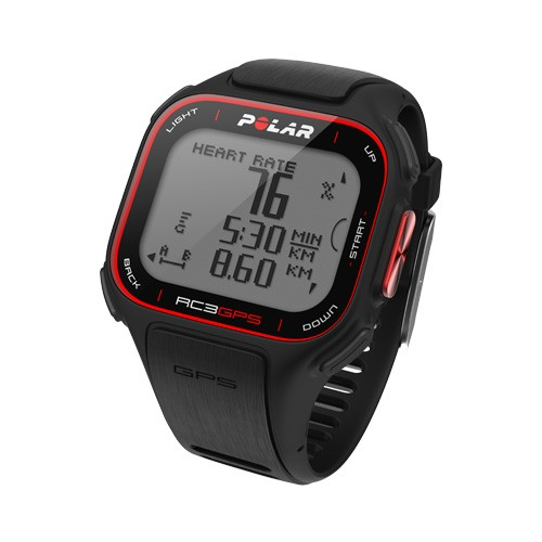 POLAR RC3 GPS HR BIKE Pulsuhr Black