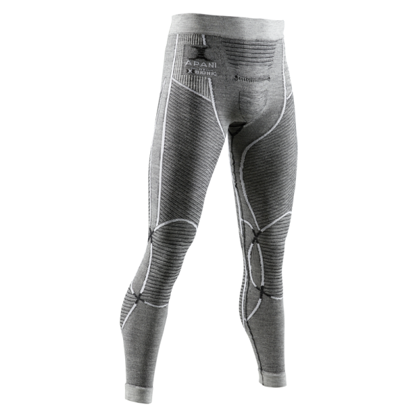 APANI 4.0 Merino Pants Men Black/Grey/White