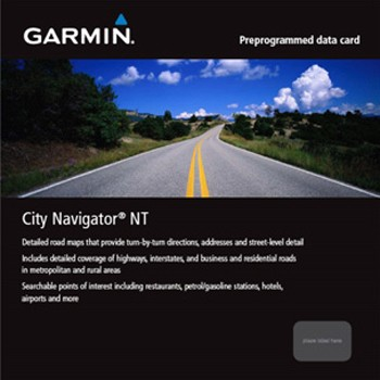 GARMIN City Navigator NT Ostafrika microSD