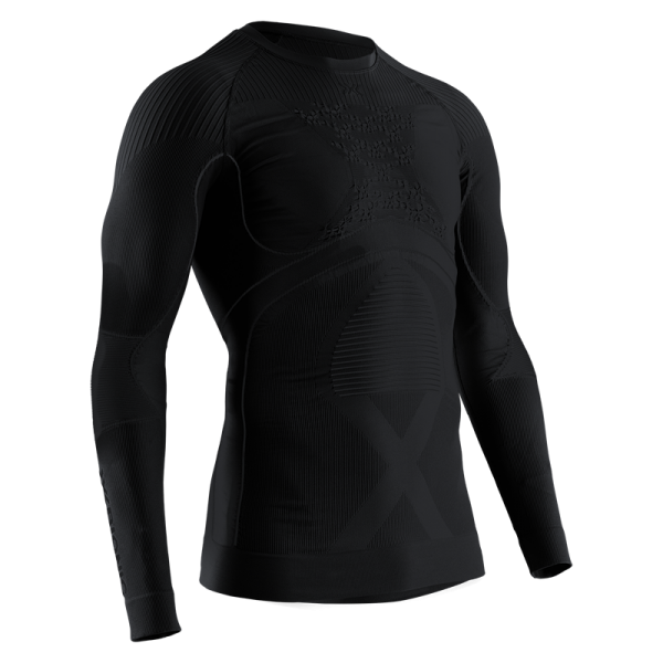 X-BIONIC Energy Accumulator 4.0 Shirt Round Neck L/S Men Black/Black