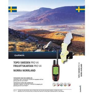 GARMIN TOPO Schweden Norra Norrland V4 Pro