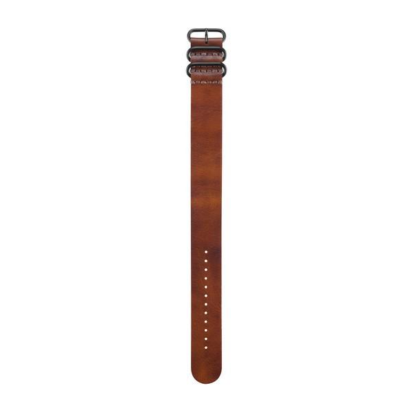GARMIN fenix 3 Leder-Armband hellbraun/light brown