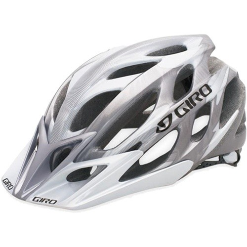GIRO Bikehelm E2, Silver/White