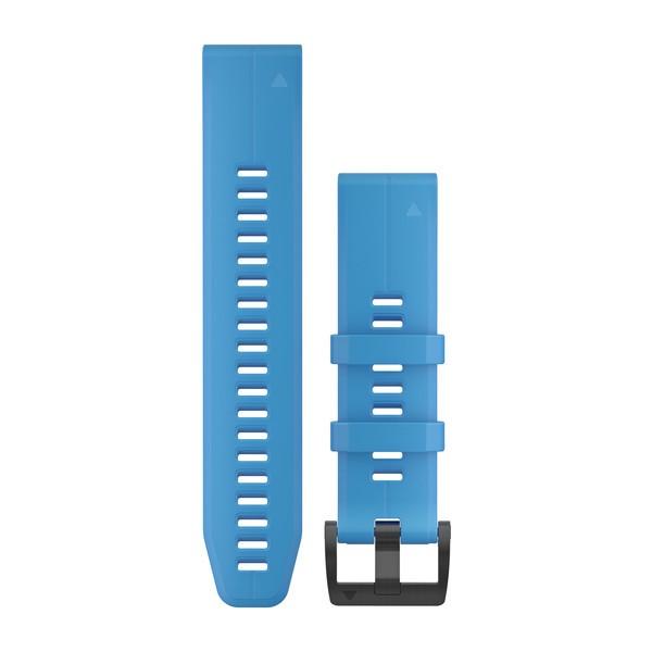 GARMIN QuickFit 22 Armband Silicone Cyan Blue