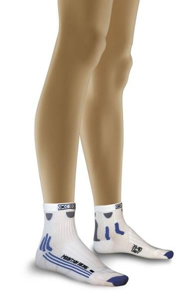 X-SOCKS Mountain Biking Short Socken Women White