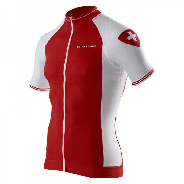 X-BIONIC Swiss Race Shirt Bike S/S Men